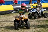 Young Quad Runner