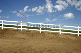 Slanted Fence
