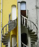Double stairways