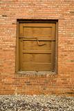 Old Latched Door