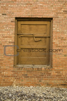 Old Latched Door