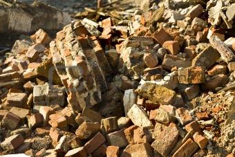 Brick Wall Rubble