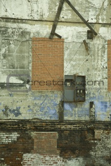 Factory Wall after Demolition