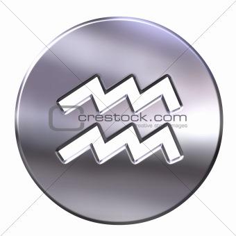 3D Silver Aquarius