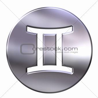 3D Silver Gemini