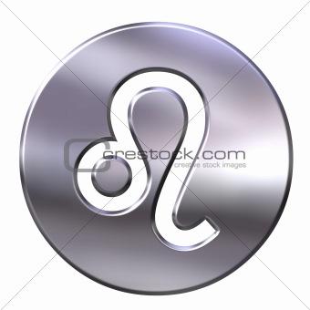 3D Silver Leo