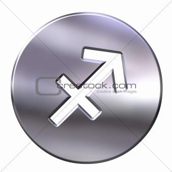 3D Silver Sagittarius