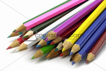 pencils rainbow