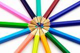 pencils circle
