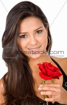 beautiful girl in love