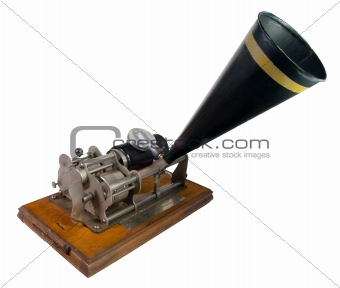 Antique Cylinder Phonograph