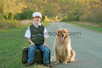 Boy Traveling