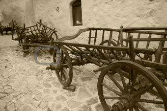 abandoned Wagons