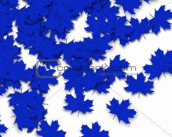 Blue Autum Background