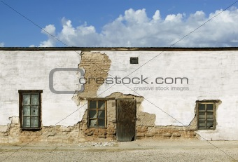 Abandoned Adobe Building