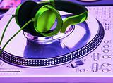 Professional DJ Vinyl Player