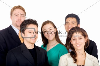 business team portrait