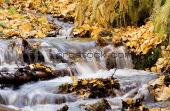 Waterfall in Fall time