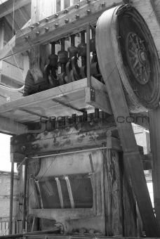 old vintage power generator