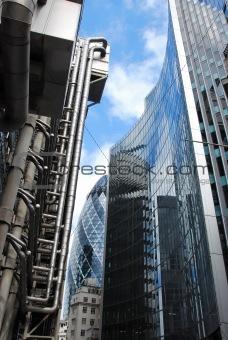 City of London-Modern Architecture