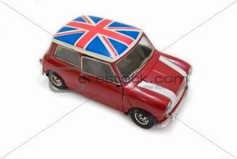 Red uk car