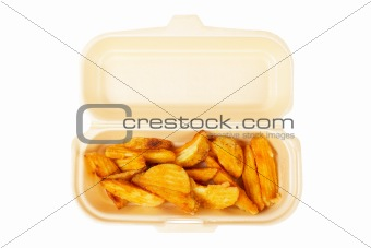 Potatoes on the box