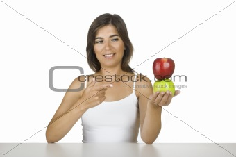 Apple diet