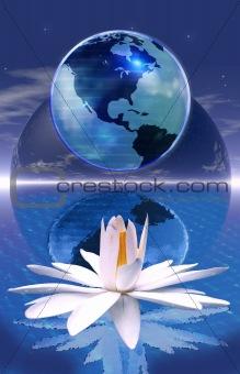 Blue planet meditation