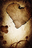 &quot;Dramatic love&quot; vintage abstract background.