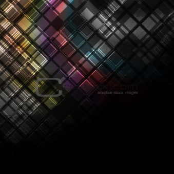 Abstract dark design