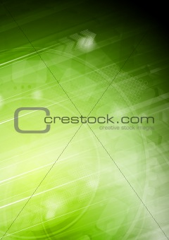 Vibrant technical background with arrows