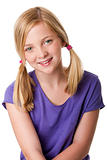 Cute happy teenager girl