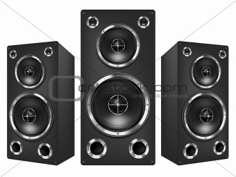Music_Speaker_Isolated_Vector_
