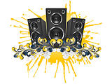 Music_Speaker_Swirl_Isolated_Vector_