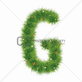 Alphabet_Grass_G