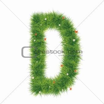 Alphabet_Grass_D_