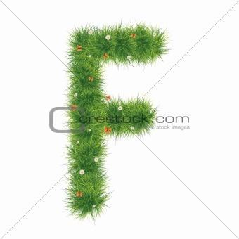 Alphabet_Grass_F_