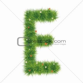 Alphabet_Grass_E_