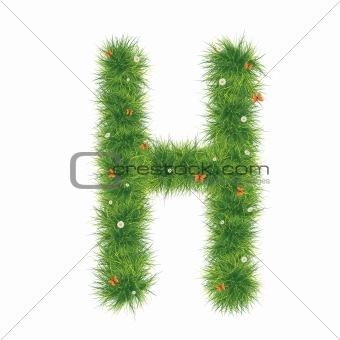 Alphabet_Grass_H_