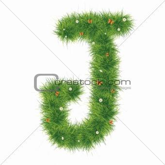 Alphabet_Grass_J_