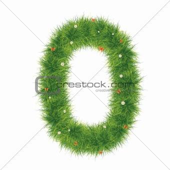 Alphabet_Grass_O
