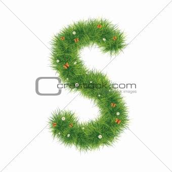 Alphabet_Grass_S_