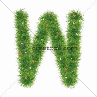 Alphabet_Grass_W_