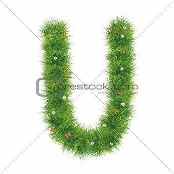 Alphabet_Grass_U_