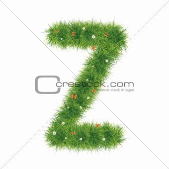 Alphabet_Grass_Z_