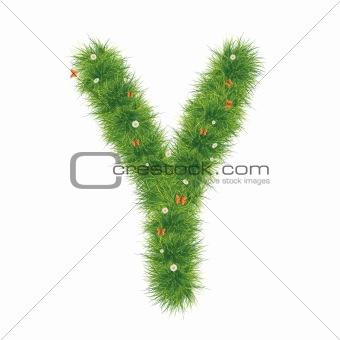 Alphabet_Grass_Y_