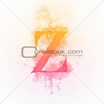 Alphabet_Fire_Z