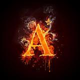 Alphabet_Fire_A_