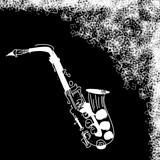 Grunge jazz card