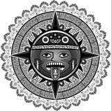 sun of Indians of aztecs